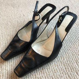 Gucci slingback heels